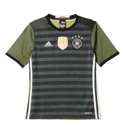 Germany Away Junior Short Sleeve Jersey 2016