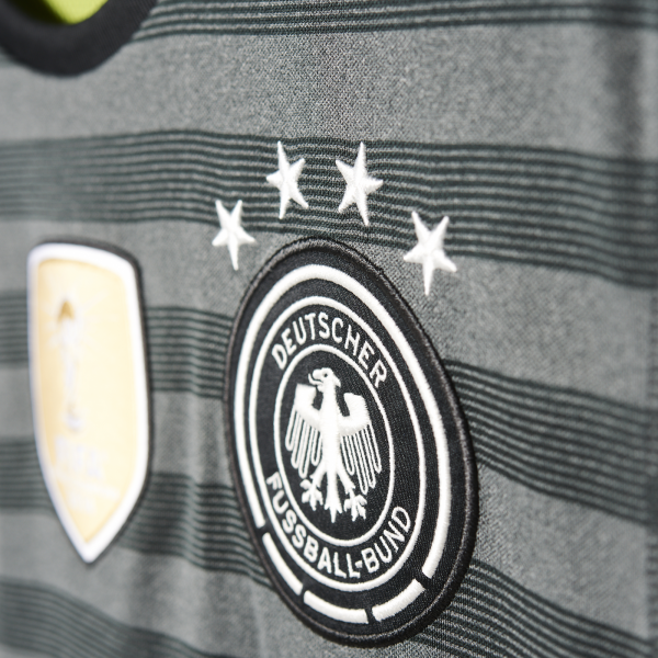 adidas Germany Away Junior Short Sleeve Jersey 2016