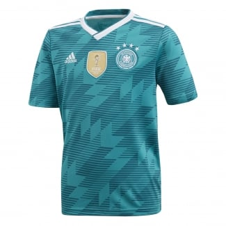 Germany Away Junior Short Sleeve Jersey 2018