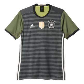 Germany Away Mens Short Sleeve Jersey 2016