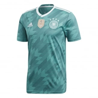 Germany Away Mens Short Sleeve Jersey 2018
