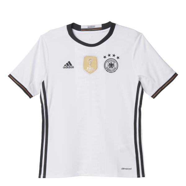 adidas Germany Home Junior Short Sleeve Jersey 2016