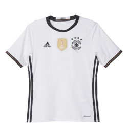 Germany Home Junior Short Sleeve Jersey 2016
