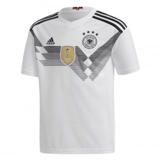 Germany Home Junior Short Sleeve Jersey 2018