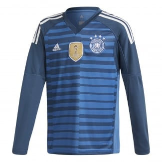 Germany Junior Home Goalkeeper Jersey 2018