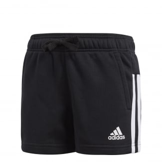 Girls Essentials 3-Stripes Mid Shorts