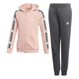 Girls Hooded Track Suit