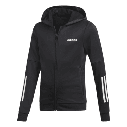 Girls Linear Logo Full Zip Hoodie