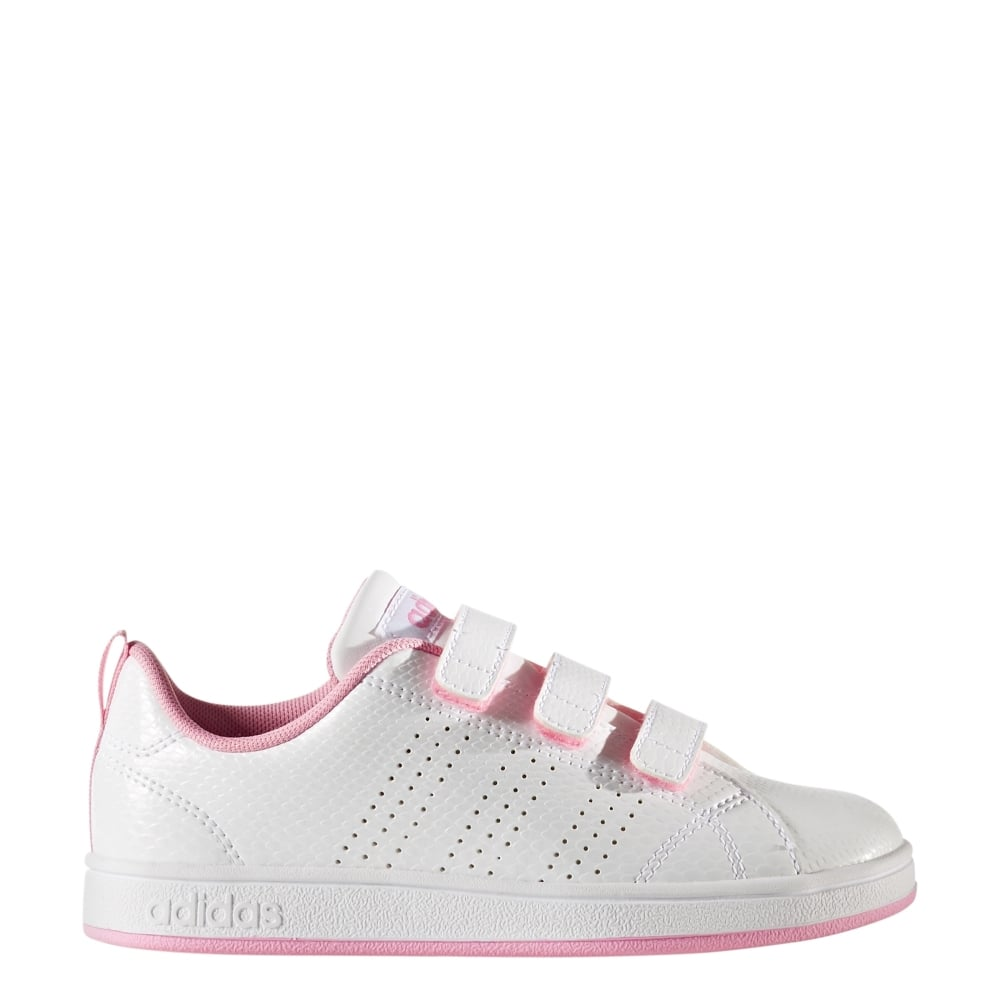 f636351bf7 Adidas Girls VS Advantage Clean Shoes (sizes 10-2.5)