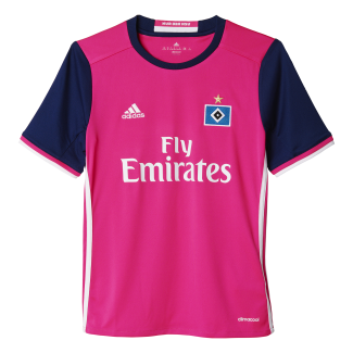 Hamburg SV Away Junior Short Sleeve Jersey 2016/2017