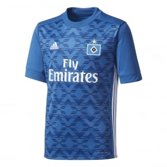 Hamburg SV Away Junior Short Sleeve Jersey 2017/2018