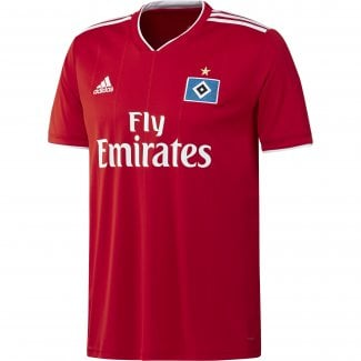 Hamburg SV Away Mens Short Sleeve Jersey 2018/2019