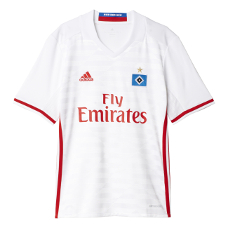 Hamburg SV Home Junior Short Sleeve Jersey 2016/2017