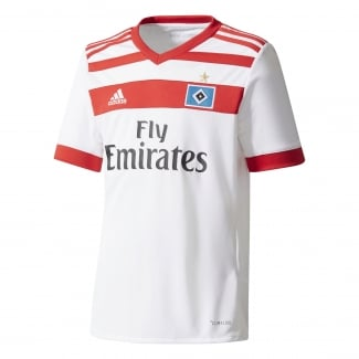 Hamburg SV Home Junior Short Sleeve Jersey 2017/2018