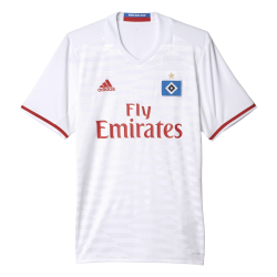 Hamburg SV Home Mens Short Sleeve Jersey 2016/2017