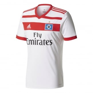 Hamburg SV Home Mens Short Sleeve Jersey 2017/2018