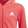 Adidas Hooded Girls Tracksuit