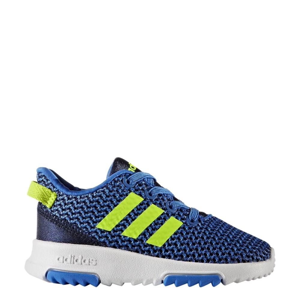 e8bd301f9627 adidas Infant Boys Cloudfoam Racer TR in Blue