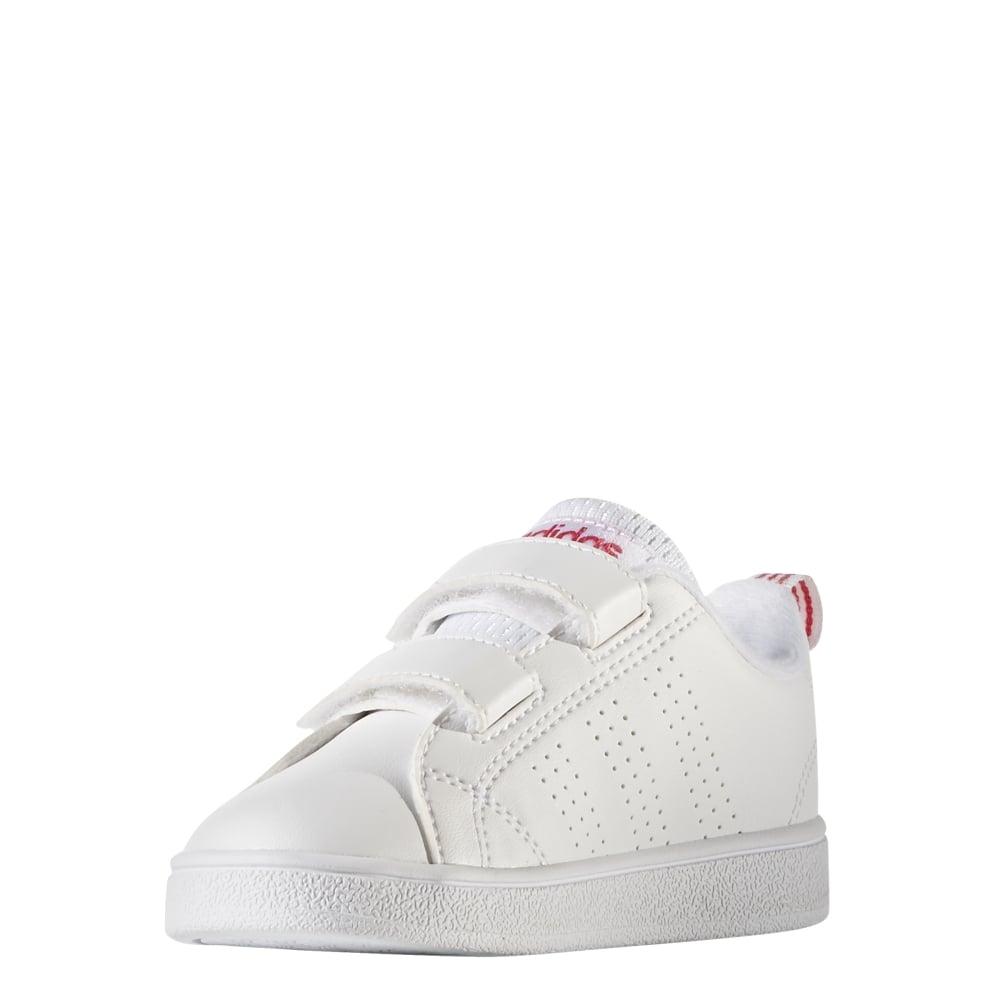 le dernier 467a0 032e6 Adidas Infant Girls VS Advantage Clean Shoes