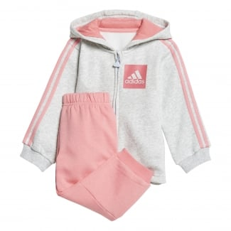 Infants 3-Stripes Hooded Fleece Jogger