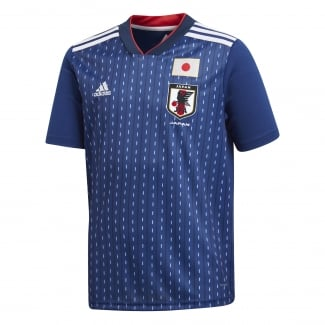 Japan Home Junior Short Sleeve Jersey 2018