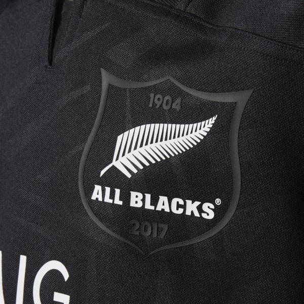 adidas Junior All Blacks Home Jersey