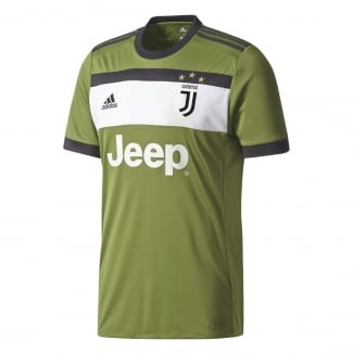 Juventus 3rd Junior Short Sleeve Jersey 2017/2018
