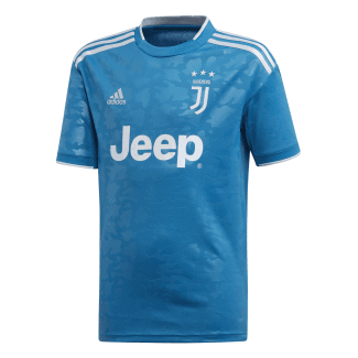 Juventus 3rd Junior Short Sleeve Jersey 2019/2020