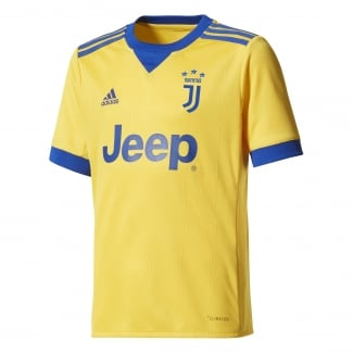 Juventus Away Junior Short Sleeve Jersey 2017/2018