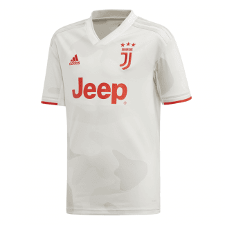 Juventus Away Junior Short Sleeve Jersey 2019/2020