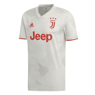 Juventus Away Mens Short Sleeve Jersey 2019/2020