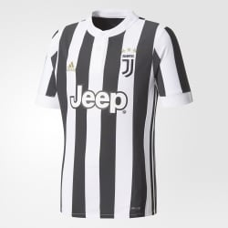 Juventus Home Junior Short Sleeve Jersey 2017/2018