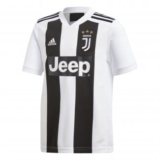 Juventus Home Junior Short Sleeve Jersey 2018/2019