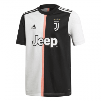 Juventus Home Junior Short Sleeve Jersey 2019/2020