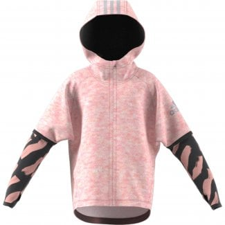 Little Girls Cotton Cover-Up Hoodie