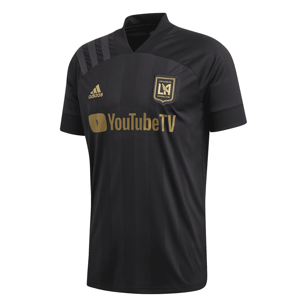 Adidas Los Angeles FC Home Mens Jersey Top