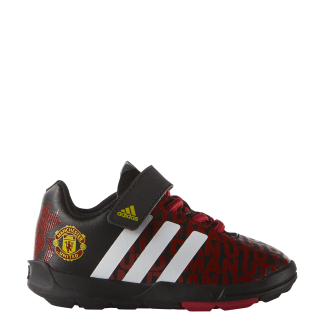 Man Utd Elastic Lace Infants Trainer