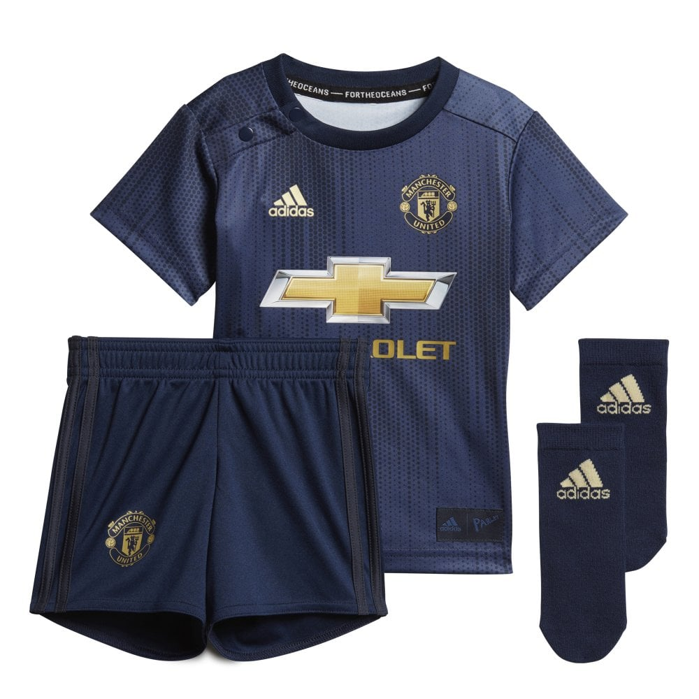 the best attitude a8004 ed2a5 Adidas Manchester United 3rd Baby Kit 2018/2019