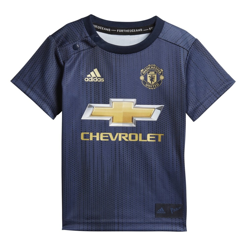 f4ab59106 Adidas Manchester United 3rd Baby Kit 2018 2019 - Adidas from Excell Sports  UK