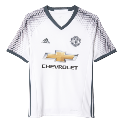 Manchester United 3rd Junior Short Sleeve Jersey 2016/2017