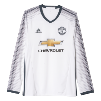 Manchester United 3rd Mens Long Sleeve Jersey 2016/2017