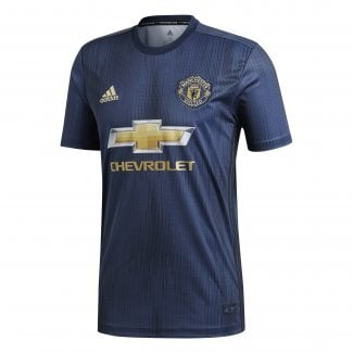 Manchester United 3rd Mens Short Sleeve Jersey 2018/2019