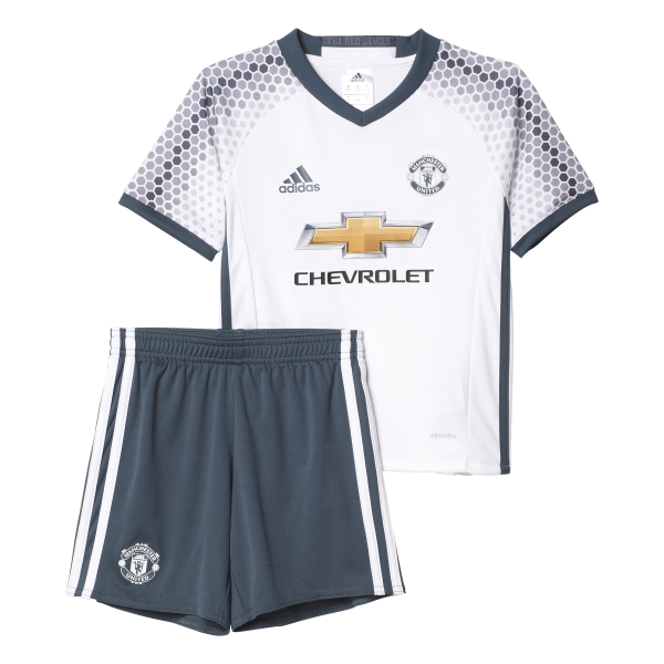 adidas Manchester United 3rd Mini-Kit 2016/2017