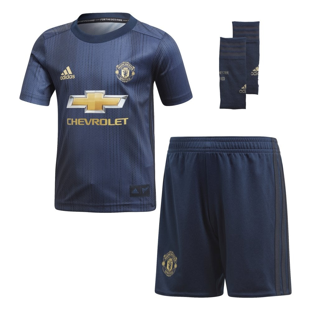 premium selection 3734a b012b Adidas Manchester United 3rd Mini Kit 2018/2019