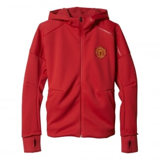 Manchester United Anthem Z.N.E. Youths Hoodie