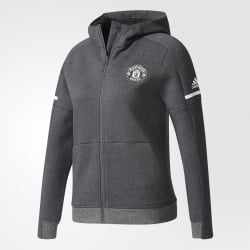 Manchester United Away Junior Anthem Squad Hoodie 2017/2018