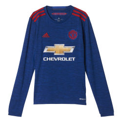 Manchester United Away Junior Long Sleeve Jersey 2016/2017