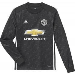Manchester United Away Junior Long Sleeve Jersey 2017/2018
