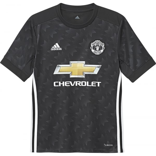 adidas Manchester United Away Junior Short Sleeve Jersey 2017/2018