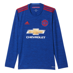 Manchester United Away Mens Long Sleeve Jersey 2016/2017